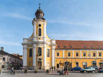 The Transfiguration Cathedral In Cluj Napoca Royalty Free Stock Photo