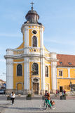 The Transfiguration Cathedral In Cluj Napoca Stock Photos