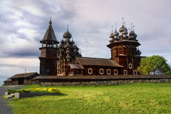 Transfiguration Cathedral, Kizhi Island, Karelia Stock Photography