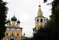 Transfiguration Cathedral. Kremlin in Uglich, Russia. Royalty Free Stock Photography
