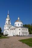 Transfiguration Cathedral in Man's Piously-Nikolaev monastery Stock Photos