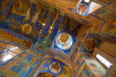 Transfiguration Cathedral in Monastery of Saint Euthymius Suzdal Stock Image