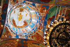 Transfiguration Cathedral in Monastery of Saint Royalty Free Stock Image