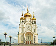Transfiguration Cathedral Russia Royalty Free Stock Images