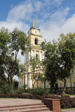 The Transfiguration Cathedral, Russia Royalty Free Stock Images
