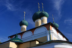 Transfiguration Cathedral in Uglich Kremlin, Russia Royalty Free Stock Photo