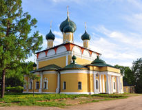 Transfiguration Cathedral in the Uglich. Russia Stock Photography