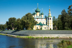 Transfiguration cathedral uglich Stock Photos