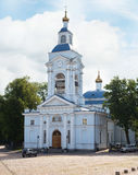 Transfiguration Cathedral in Vyborg city Stock Photo