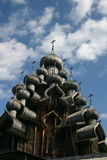 Transfiguration church. The museum of wooden architecture is located on the Kizhi island on Lake Onega in the Republic of Karelia, Russia. The jewel of the Stock Photo