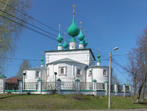 Transfiguration church in Kineshma, Russia Royalty Free Stock Image
