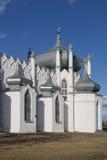 Transfiguration Church in Moshni, Ukraine Royalty Free Stock Photos