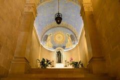 Transfiguration church. On Tabor mountain Stock Photo