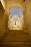 Transfiguration church. On Tabor mountain Stock Photos