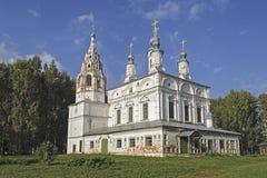 Transfiguration Church in Veliky Ustyug Stock Photography