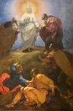 Transfiguration du seigneur Photo libre de droits