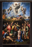 Transfiguration. By Raphael at Vatican Museums Stock Photography