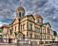Transfiguration of the Saviour Cathedral, Chisinau Royalty Free Stock Photography