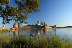 Transfiguration von Jesus Christ Savior Solovetskiy-Kloster auf Solovki-Inseln (Solovetskiy-Archipel) im weißen Meer, Russland, U Stockfoto