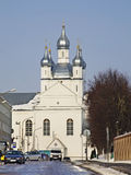Transfigurations-Kathedrale in Slonim belarus lizenzfreies stockbild