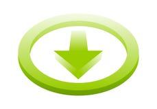 Transfira o ícone Fotografia de Stock