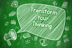 Transform Your Thinking - Business Concept. Stock Photo