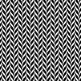 Transformação da ilusão ótica Fundo espiral abstrato preto e branco do vetor Foto de Stock Royalty Free