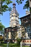 Transformação ortodoxo apostólica estônia de Parnu de nosso Lord Church fotografia de stock royalty free