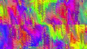 Transformações claras de imitação de fascinação do pulso aleatório que vislumbram o fundo vídeos de arquivo