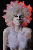 Transformación del ángel al ser humano Foto de archivo libre de regalías