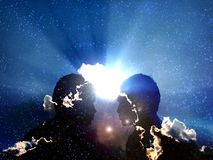 transformacja kosmicznej Fotografia Stock