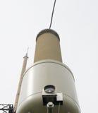 Transformador atual subestação de uma alta tensão de 110 quilovolts Foto de Stock Royalty Free