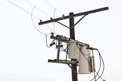 Transformador de alto voltaje Imagen de archivo libre de regalías