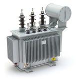 Transformador de poder de alto voltaje stock de ilustración