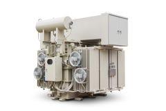 Transformador de poder imergido óleo fotos de stock