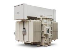 Transformador de poder imergido óleo foto de stock