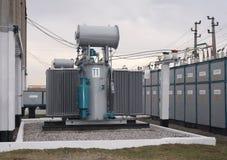 Transformador de potência Foto de Stock