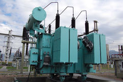 Transformador de potencia 3 Imagen de archivo