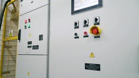 Transformador do armário da proteção e interruptor do controlo automático Subestação modular video estoque
