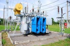 Transformador eléctrico Foto de archivo libre de regalías