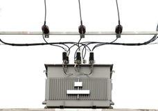 Transformador elétrico foto de stock