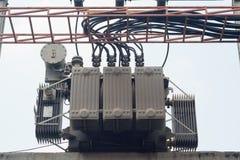 Transformador elétrico Fotografia de Stock