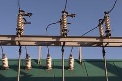 transformador electirical Foto de archivo
