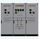 Transformador, escudo eléctrico Imagen de archivo libre de regalías