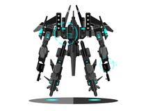Transformador militar do robô ilustração royalty free