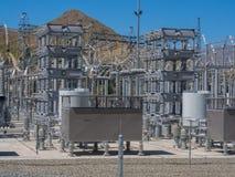 Transformadores da corrente elétrica fotos de stock