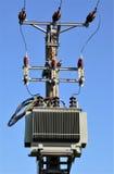 Transformadores de alto voltaje imagenes de archivo