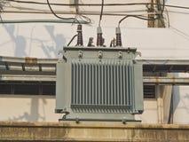 Transformadores elétricos Foto de Stock