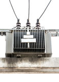 Transformateur électrique Images libres de droits