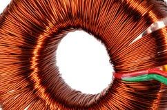 Transformateur de noyau de boucle Photo stock
